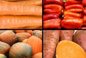 Một số loại rau củ, thực phẩm hàng ngày...