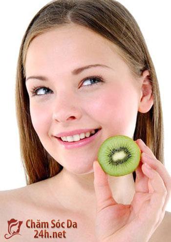 Tự làm các loại mặt nạ dưỡng da từ trái kiwi