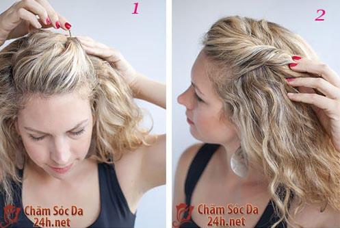 Bạn đã từng thấy kiểu tóc búi 2 tầng...