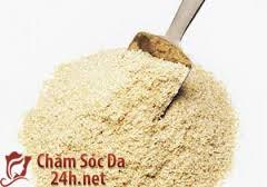 Liệu pháp trị viêm nang lông bằng cám gạo