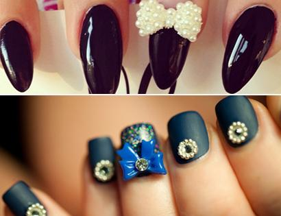 Có rất nhiều mẫu nail đẹp và sáng tạo,...