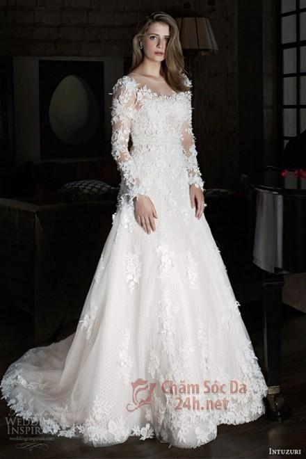 váy cưới ren 2014-3