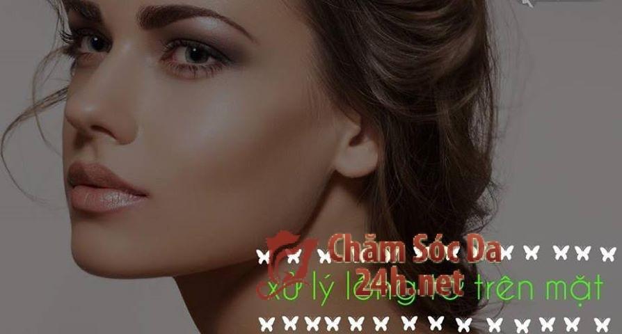 Chia sẻ cách xử lý lông tơ trên mặt