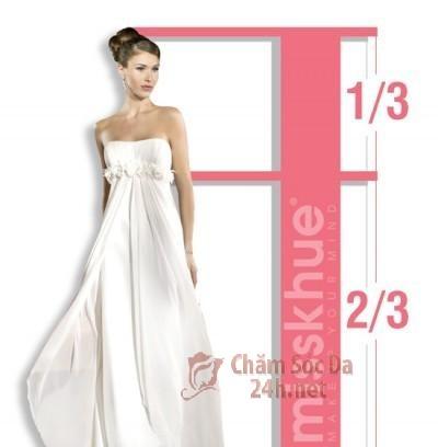 Kiểu chọn váy cưới cho người thấp