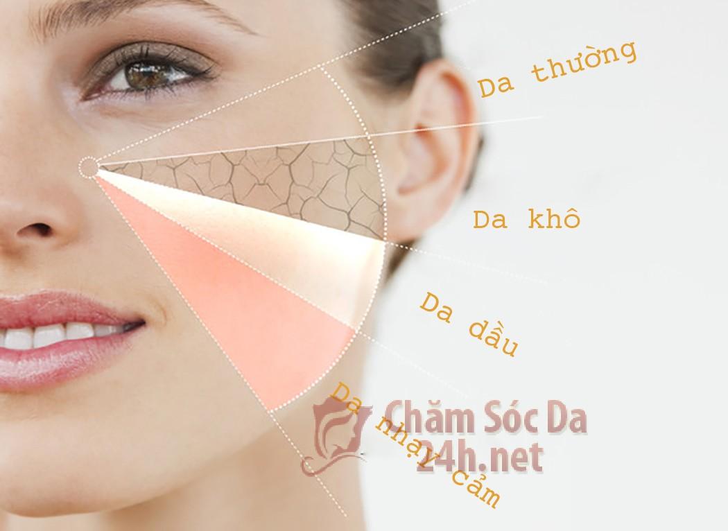 Có mấy loại da mặt?