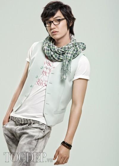 Các kiểu tóc đẹp của Lee Min Ho