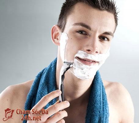 Tẩy tế bào chết và chăm sóc da cho nam giới