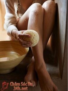 Bí kíp giảm bớt đau khi tẩy viôlông