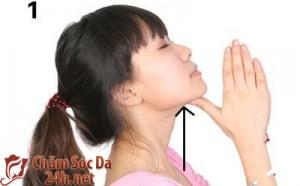 Cách massage cho khuôn mặt thon gọn hơn