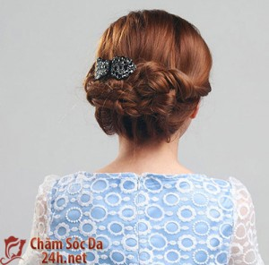 Tết tóc xinh đẹp và yêu kiều như một nàng công chúa
