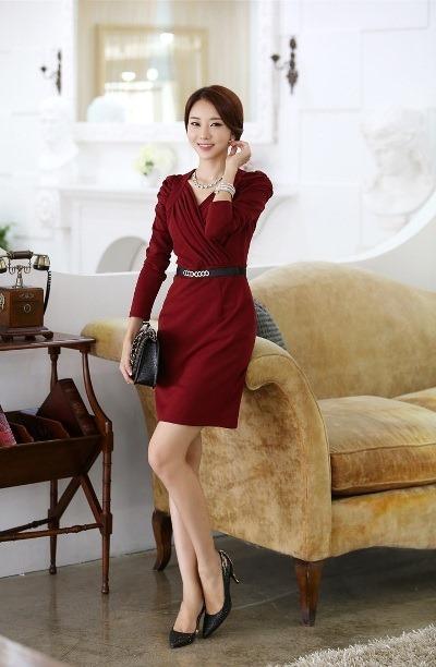 Bộ sưu tập những mẫu váy công sở liền cho mùa thời trang Thu Đông 2013