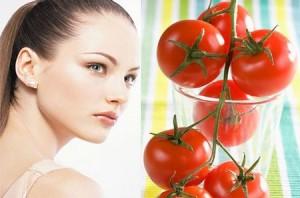 Làm trắng và mịn da với cà chua