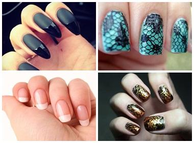 """Những mẫu nail """"hot"""" cho mùa thu"""