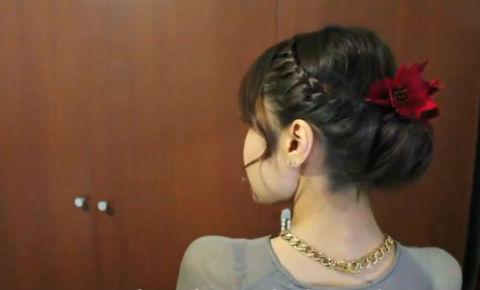 Thêm xinh với kiểu tóc tết búi chỉ trong 10 phút