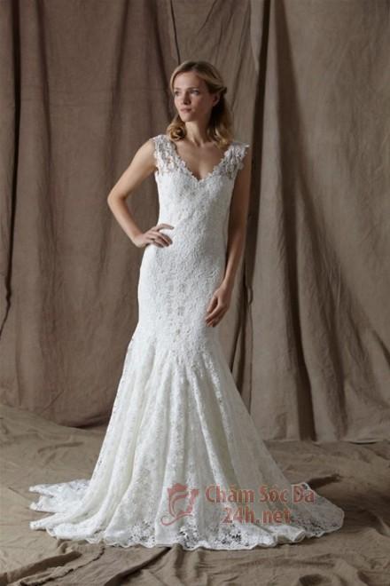 váy cưới ren 2014-10