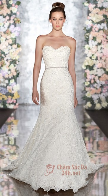 váy cưới ren 2014-16