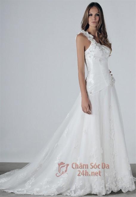 váy cưới ren 2014-18