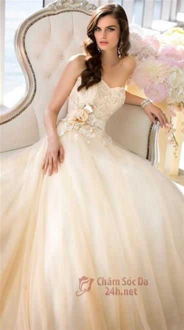 váy cưới ren 2014-4
