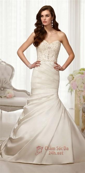váy cưới ren 2014-5