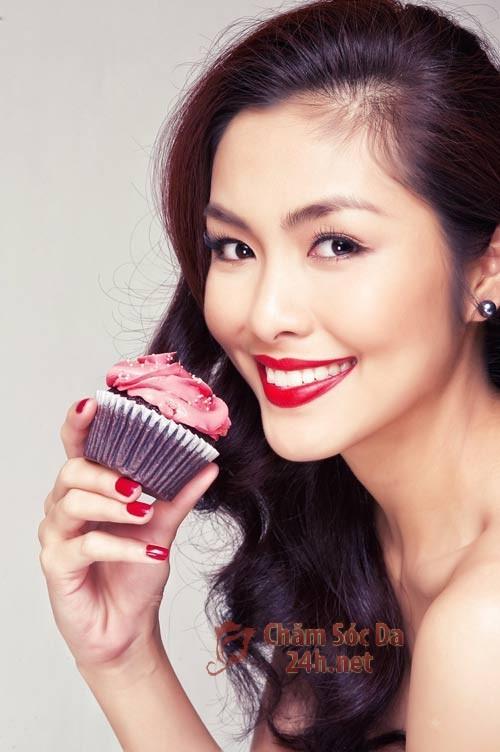 Người mẫu thường ăn gì?
