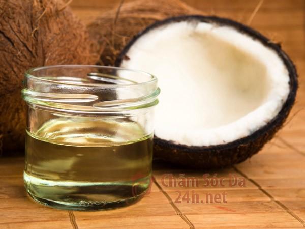 Cách trị thâm nách bằng dầu dừa