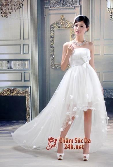 5 Kiểu chọn váy cưới cho người thấp