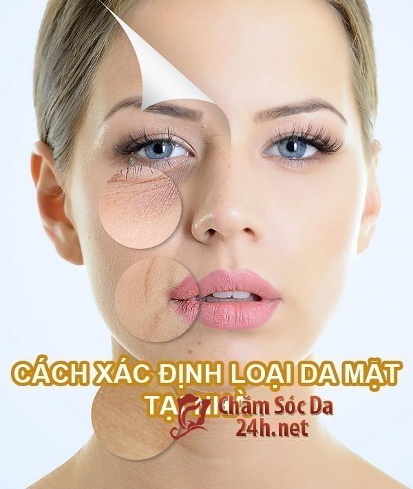 Hướng dẫn cách xác định loại da mặt tại nhà
